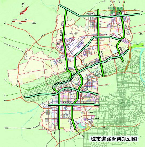 秦汉新城正阳渭河大桥正式开工