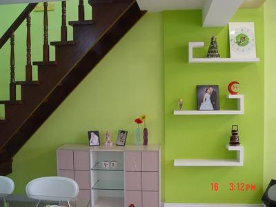 阁楼伸缩楼梯装修效果图 节省空间的创意设计-阁楼伸缩楼梯装修效果