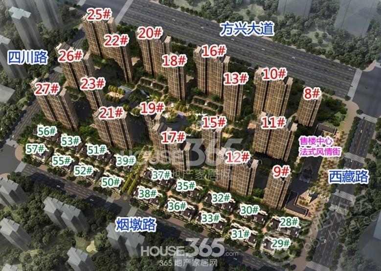 樟树市滨江御府规划图