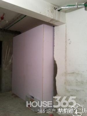 木工做 石膏板 背景墙