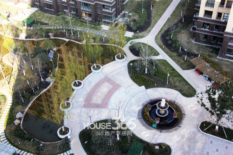 东城豪庭小区景观俯视图-编织宜居宜人生活画卷 东城豪庭小区实拍