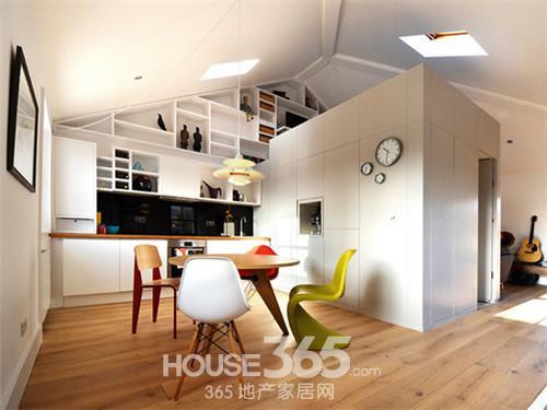 閣樓裝修設計圖 小空間創意無限大