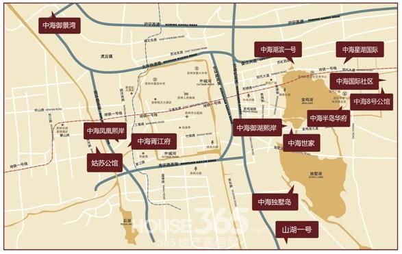 2005年,湖滨一号,半岛华府逆市热销,中海地产备受瞩目,全面加速国际人