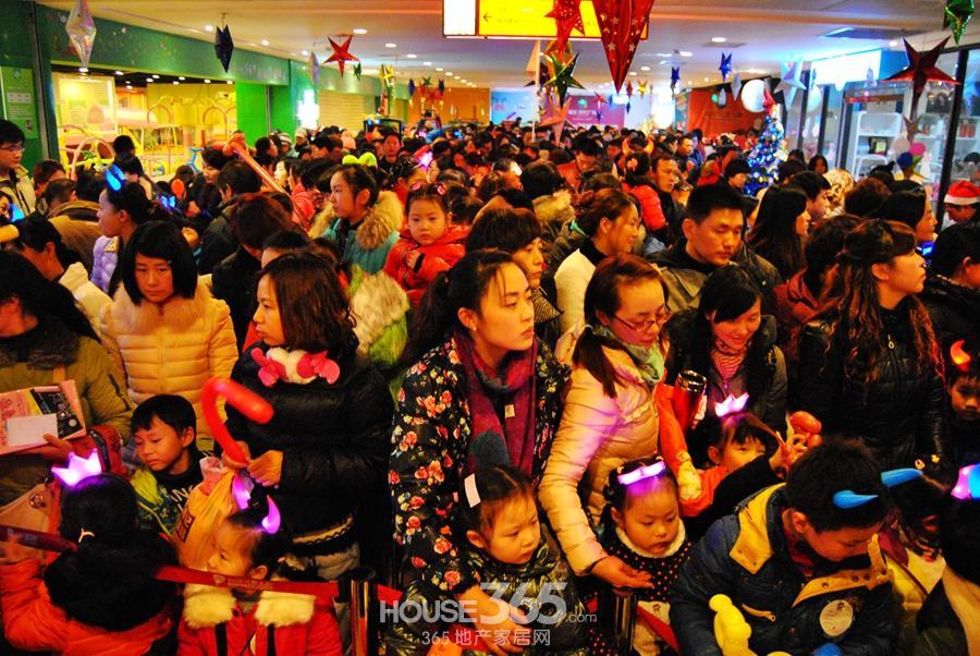 芜湖 柏庄儿童王国 圣诞节大联欢 人气爆棚嗨翻天
