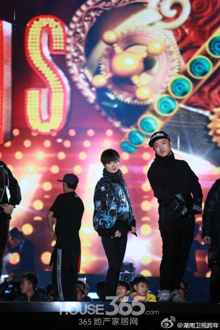 湖南卫视跨年演唱会:林志颖图片