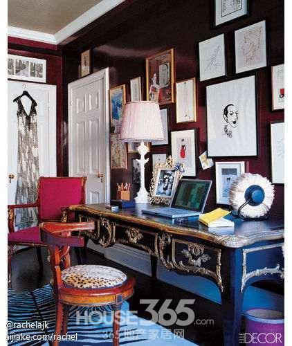 书房装修效果图 创意设计角落与众不同