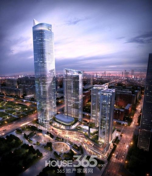 南京世界贸易中心效果图