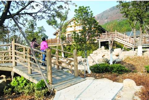 大阳山国家森林公园植物园景区二期工程快速推进