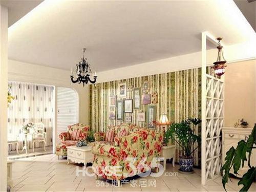 小户型客厅隔断设计 区分空间帮手