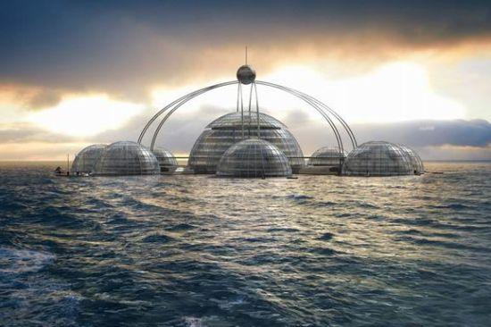 未来豪宅可上天下海 不是科幻片