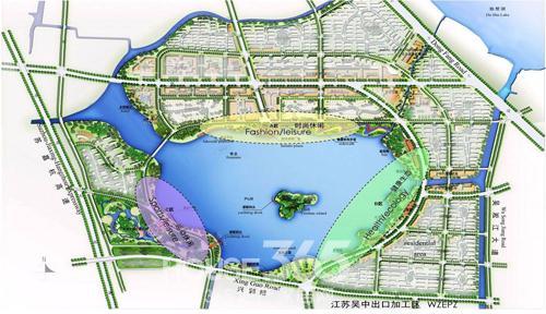 尹山湖规划图 高清图片