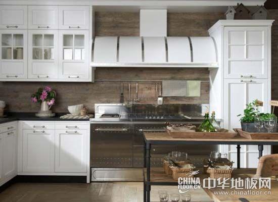 厨房木地板装修效果图
