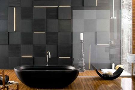 时尚个性浴缸设计 绝对有料的装修