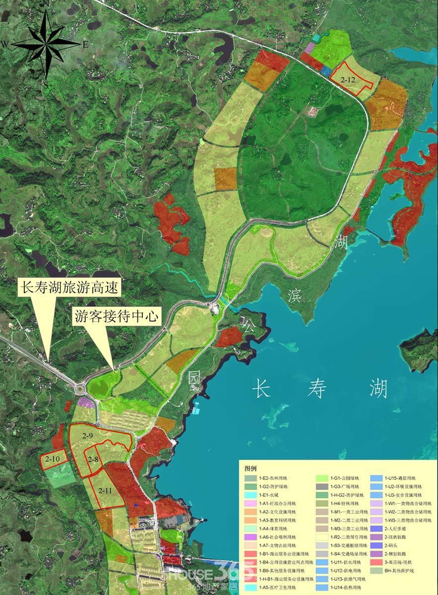 长寿区2014年房地产开发用地计划公布 将推1480亩土地