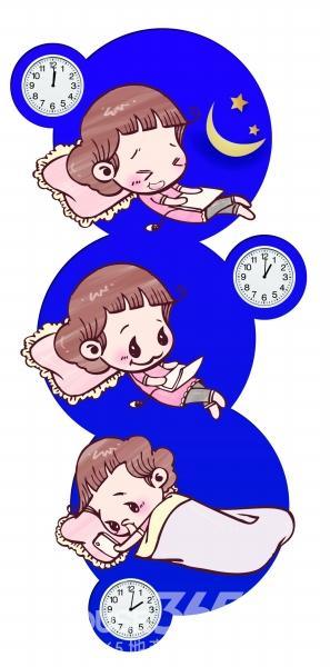 微信晚安睡觉图片大全可爱