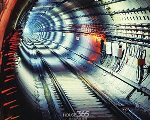 合肥1号线今年打通8成隧道 6600元起看受追捧地铁房