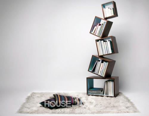 该圆形书架直径有122厘米