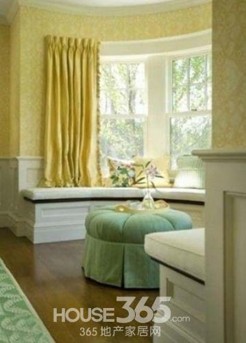 2014卧室飘窗装修效果图大全