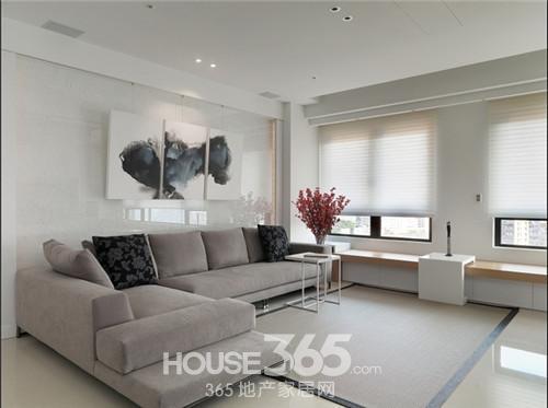 2014三室两厅现代简约风装修效果图大全