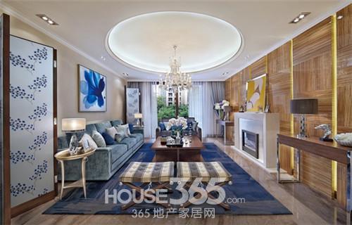 普通家庭客厅装修 色彩把握很重要