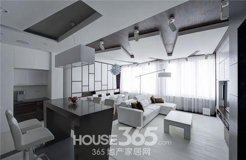 普通家庭客厅装修   如果对于客厅颜色没有把握,可以运用统高清图片