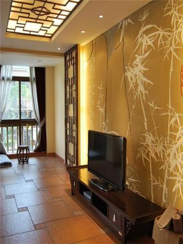 古典与现代主义完美融合 最美中式电视墙设计案例图片